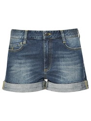 French Connection Vintage Wash Nancy Shorts Blue