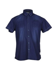 Marville Shirts Dark Blue