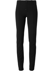 High Skinny Tailored Trousers Black