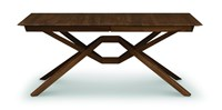 Copeland Furniture Exeter Single Leaf Extension Table