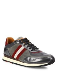 Bally Trainspotting Trainer Sneakers Carbon