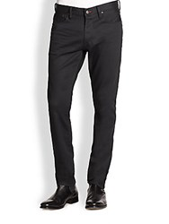 Ralph Lauren Straight Fit Panther Stretch Jeans Black