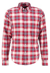 Abercrombie And Fitch Muscle Fit Shirt Red Plaid