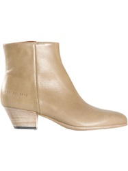 Common Projects Ankle Boots Nude And Neutrals