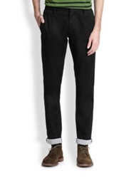 Marc By Marc Jacobs Camden Cotton Pants Black