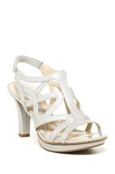 Naturalizer Danya High Heel Sandal Wide Width Available Metallic