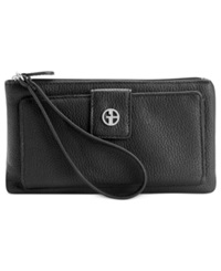 Giani Bernini Softy Leather Medium Grab And Go Wallet Black