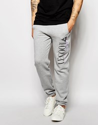 Le Coq Sportif Retro Fijean Sweatpants Grey
