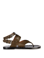 Isabel Marant Justy Leather Sandals