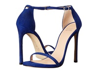 Stuart Weitzman Bridal And Evening Collection Nudist Ultramar Goose Bump Nappa High Heels Blue