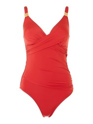 Biba Goddess Swimsuit Red