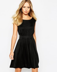 Supertrash Delora Dress With Belt Black