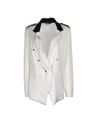 Anthony Vaccarello Suits And Jackets Blazers Women White
