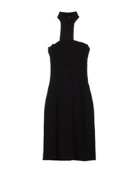 Vanda Catucci Knee Length Dresses Black