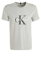 Calvin Klein Underwear Pyjama Top Grey Mottled Grey
