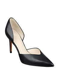 Marc Fisher Tammy Leather Dorsay Pumps Black