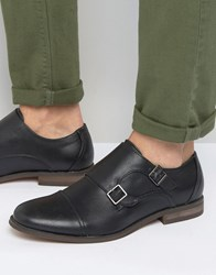 New Look Monk Strap Shoes In Black Black