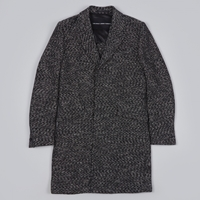 Our Legacy Classic Coat Basket Weave Black