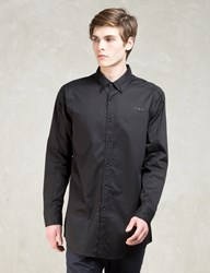 Black Fornax Button Up Shirt