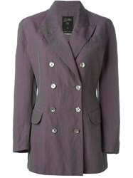 Jean Paul Gaultier Vintage Double Breasted Blazer Pink And Purple