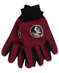 Forever Collectibles Florida State Seminoles Palm Gloves Maroon Black