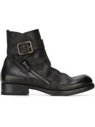 Pantanetti Zip Ankle Boots Black