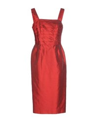 Ivan Montesi Dresses 3 4 Length Dresses Women Red