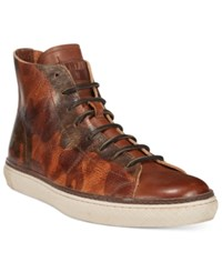Frye Men's Gates Mid Lace Sneakers Men's Shoes Fatigue