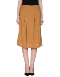 L'autre Chose L' Autre Chose 3 4 Length Skirts Brown