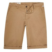 River Island Mens Beige Franklin And Marshall Skinny Shorts