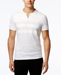 Inc International Concepts Minos T Shirt Only At Macy's White Pure