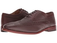 Lotus Harry Oxblood Leather Men's Lace Up Wing Tip Shoes Burgundy