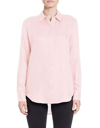 Lord And Taylor Linen Hi Low Casual Shirt Fairy Tale
