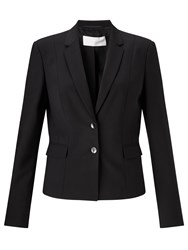 Boss Logo Boss Jaru Wool Stretch Blazer Black