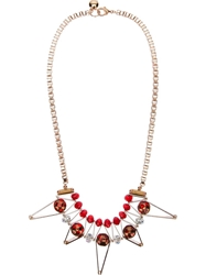 Scho 'Star' Necklace Metallic