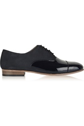 Dieppa Restrepo Joe Patent Leather And Suede Brogues