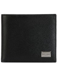 Dolce And Gabbana Classic Billfold Wallet Black