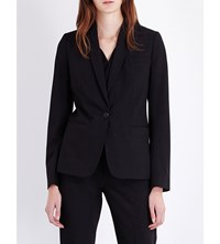 French Connection Chelsea Single Breasted Woven Jacket Black