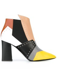Pollini Studded Ankle Boots