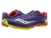 Saucony Kilkenny Xc5 Flat Purple Red Citron Men's Running Shoes