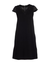 Gaudi' Short Dresses Black
