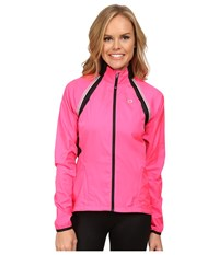 Pearl Izumi W Elite Barrier Convertible Cycling Jacket Screaming Pink Women's Workout