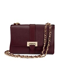 Aspinal Of London Large Lottie Bag Unisex Burgundy