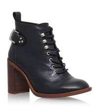 Kg By Kurt Geiger Sweet Leather Ankle Boots Female Black