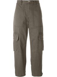 Marc By Marc Jacobs Cargo Trousers Green