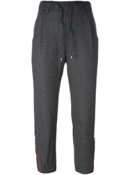 Brunello Cucinelli Zipped Detail Track Pants Grey