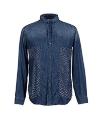 Current Elliott Denim Denim Shirts Men