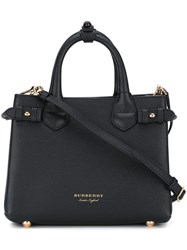 Burberry Baby 'Banner' Tote Black