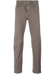 Hugo Boss Five Pocket Trousers Nude Neutrals