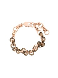 Starrs London 'Chain Sica' Bracelet Pink Purple